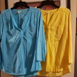 Sonoma large shirts